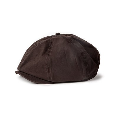【 PUNX 】OLD   PUNX 21AW NEWSBOY 工裝復古油蠟報童帽畫家帽八角貝雷帽