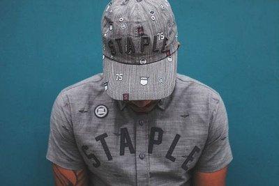 特價 紐約 STAPLE STAPLE DEBRIS SNAPBACK 灰色 鴿子 電繡 立體 logo 老帽