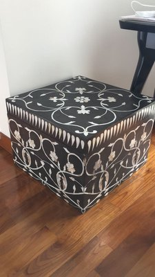 wool box with Pearl