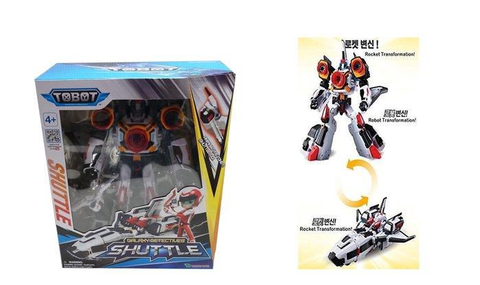 佳佳玩具 ---- 正版授權 TOBOT 機器戰士 SHUTTLE  變型機器人【053092517】