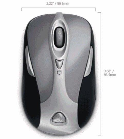 微軟無線雷射簡報鯊8000,藍牙滑鼠 雷射簡報鼠 簡報器, 簡易包裝,近全新