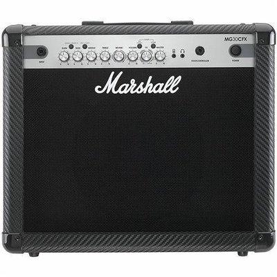 【大鼻子樂器】公司貨 Marshall MG30CFX 傳奇經典 英式搖滾 電吉他音箱 30瓦