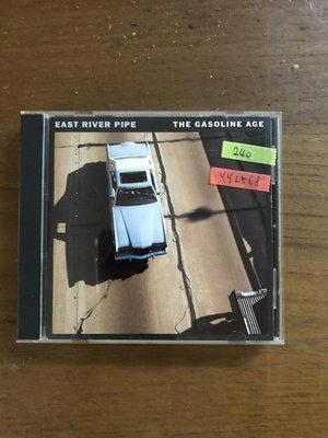 *還有唱片三館*EAST RIVER PIPE / THE GASOLINE 二手 YY2568 (需競標)