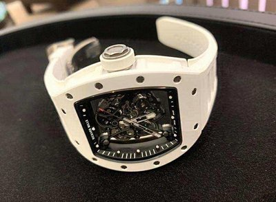 Richard Mille [USED] RM 055 Bubba Watson White Ceramic Mens Watch