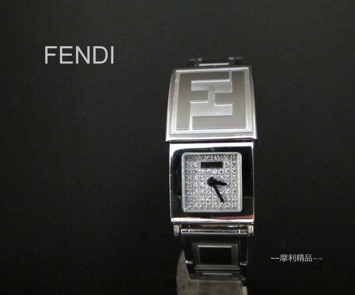 【摩利精品】FENDI 滿天星鑽錶*真品* 低價特賣