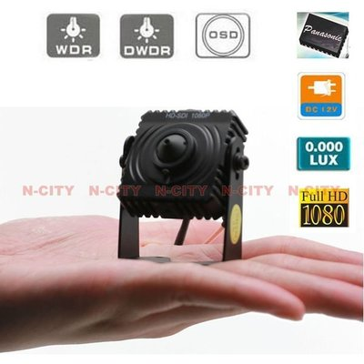 (N-CITY)針孔 SDI 3.7mm megapixels Pinhole-1080P CAMERA (200萬畫素)(NI-32)