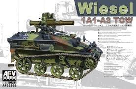 AFV CLUB 戰鷹 1/35 Wiesel 1A1-A2 TOW 鼬鼠一型A1/A2 拖式飛彈發射車 AF35265