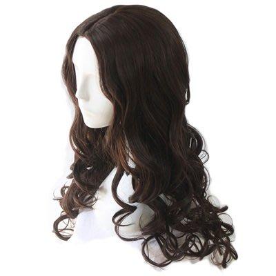 長 假髮 整頂假髮-中分大波浪蓬鬆長捲髮女假髮3色73rr29[獨家進口][米蘭精品]