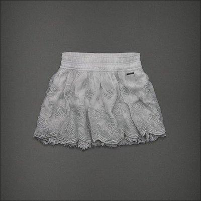 ㄚ貓的店~全新 Abercrombie & Fitch 灰色雙層紗短裙~M號($980元含運)