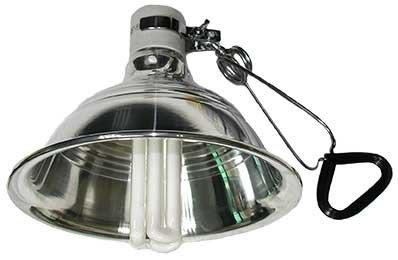 (第2件半價)UVB 10.0 REPTILE SUN 省電型 UVB 3U燈泡 26W+ 陶瓷鋁合金製燈罩 L 套餐