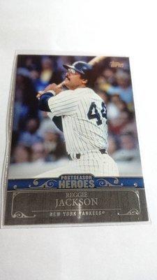 傳奇強打REGGIE JACKSON特卡一張~25元起標