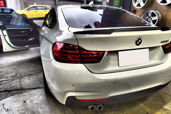DJD19051827 BMW F36 P版 碳纖維尾翼 真空版 依當月報價為準