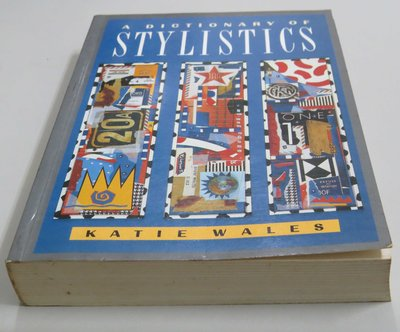 A Dictionary of Stylistics   504 pages