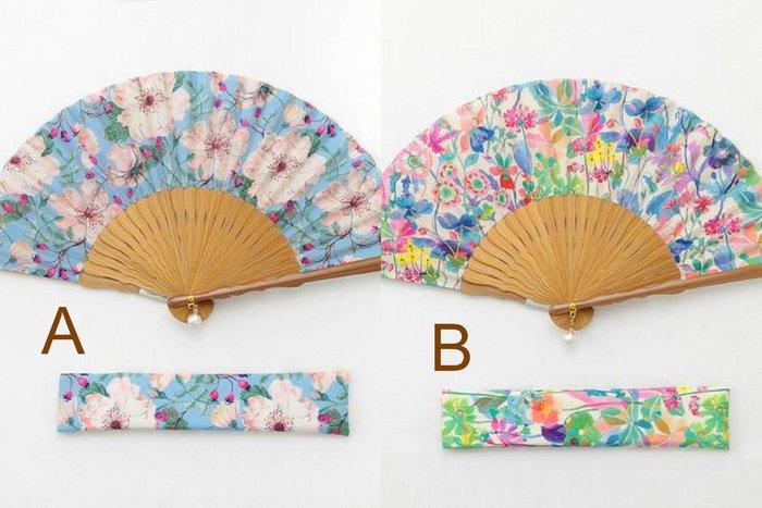 ☆Mizukinrin IN JP☆ ET 日本折扇盒裝-花卉/水果花卉