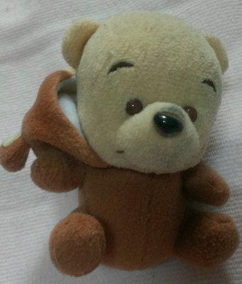 猴子裝小熊維尼 11*9   娃娃  吊飾