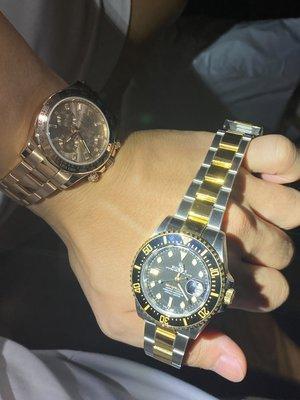 『現貨送RX8半套』 Rolex 勞力士 Sea Dweller 126603 海使者系列 半金黑水鬼王43mm大錶徑