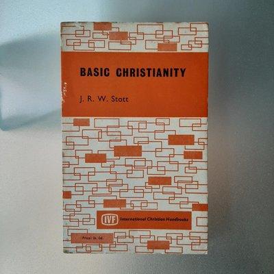 【快樂書屋】Basic Christianity-JRW Scott-The Inter-Varsity Fellowship 1965 Reprint