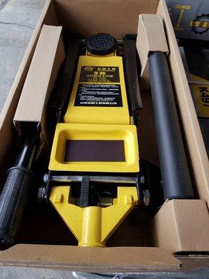 FUJEN 3TON 低型雙油壓缸 千斤頂/千斤最低高度7.3cm /DIY /千斤頂/頂車架/低底盤車用/油壓/拖板車