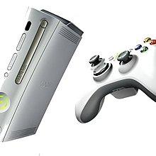 【二手商品】XBOX360 厚型主機 中古白色主機(120G)+全破解+控制器【台中恐龍電玩】