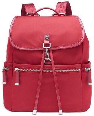 Calvin Klein CK紅色尼龍後背包