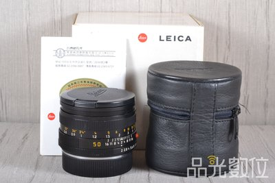【台中品光數位】萊卡 徠卡 Leica SUMMICRON-R 50mm F2 ROM R鏡 #90758T