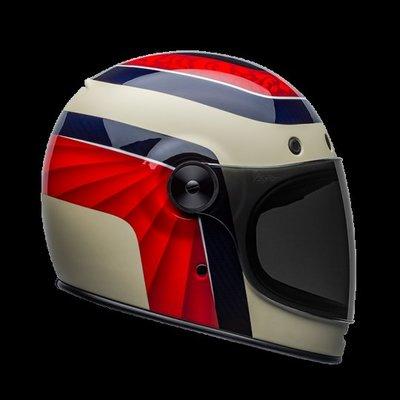 【金剛安全帽】美國 BELL-BULLITT CARBON-HUSTLE RED/SAND 碳纖維 全罩 樂高帽