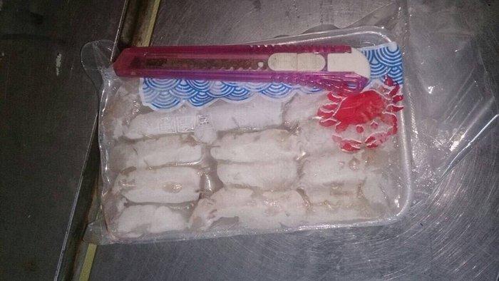大蟹管肉每盒只要180元☆鴻德水產☆滿額免運