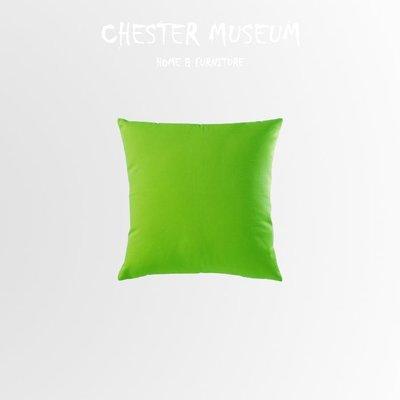 蘋果綠純棉素色抱枕 抱枕 靠墊 座墊 ...