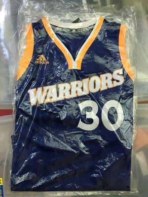 Stephen Curry sc30 Adidas NBA球衣 M S號 全新正品 勇士復古客場藍