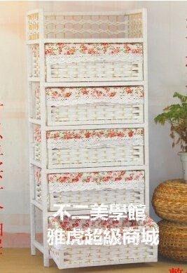 【格倫雅】^草藤編抽屜式收納櫃寶寶嬰兒衣櫃兒童儲物收納櫃子玩具整理箱24040[g-l-y8