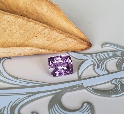 揚邵一品(附國際證)1.03克拉紫羅蘭藍寶石 無燒天然~可愛小精品 葡萄般垂涎可口 貴氣中不失活潑感 值得擁有 紫色剛玉