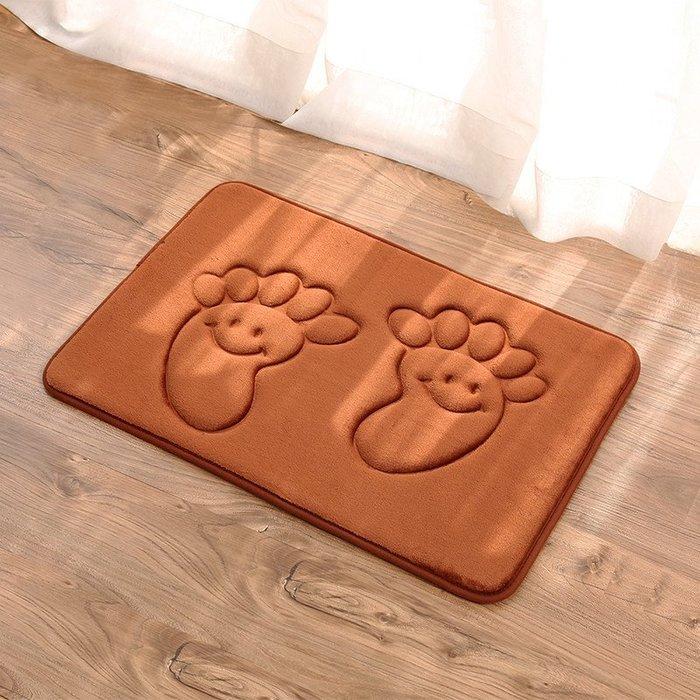 浴室防滑吸水地墊廚房門廳衛浴加厚地板墊子進門入戶吸塵地毯腳墊