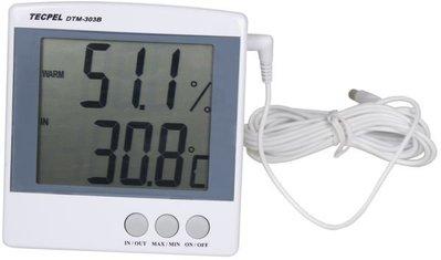 TECPEL 泰菱 》DTM-303B 大型顯示溫濕度計  溫濕度計 溫度計 溫溼度 精度高 抗蟎 刷卡 台北市