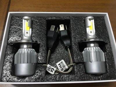 家呈汽機車精品 C6 LED大燈12V33W 3800LM H4  六代FIGHTER  NEW FIGHTER
