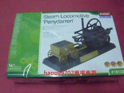 "現貨 ACADEMY  工作樂 Steam Locomotive ""Penydarren 蒸氣火車 18133"