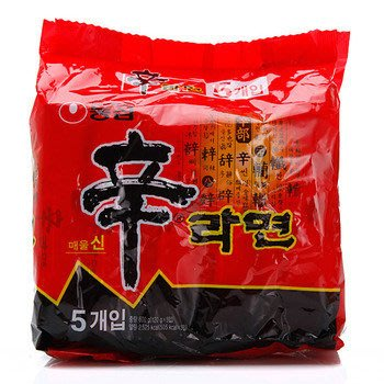 韓國農心辛拉麵5包入~~正宗韓國內銷品...
