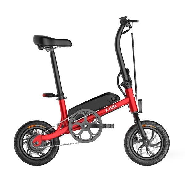 5Cgo【批發】含稅會員有優惠 558024520263 尊尚ONE折疊迷你電動車電動自行車12寸代步車-35~45KM
