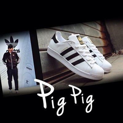 【豬豬老闆】 adidas Superstar East River 男【現貨】白黑 蛇紋 金標 B34308 余文樂