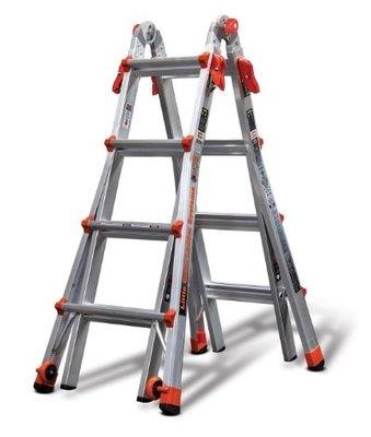~台中職人金物店~  含稅  Little Giant 美國 小巨人M17萬用梯    7尺~15尺工作梯 鋁梯A字梯