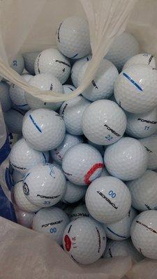 =俊達=   二手高爾夫球  FOREMOST TWO每顆4.5元.共100顆