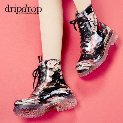 韓國雨靴女裝膠鞋中筒防水鞋成人水靴防滑套鞋時尚雨鞋女   全館免運