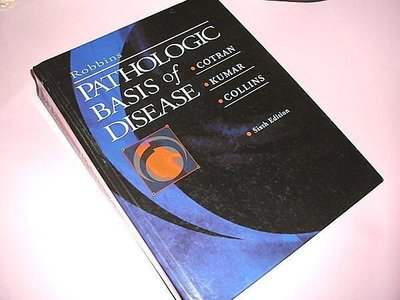 古集二手書Q ~Robbins Pathologic Basis of Disease 6/e Ramzi S. Cotran 072167335X