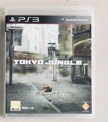 PS3 原裝正版遊戲片 東京叢林 Tokyo Jungle 中文版