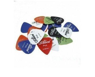 【奇歌】《可選厚度》全新ALICE彈片,PICK,多彩,吉他/烏克麗麗/電吉他/BASS通用