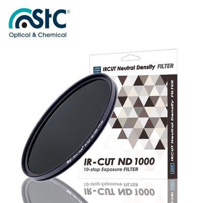 【EC數位】 STC IR-CUT 10-stop ND Filter 67mm 零色偏 ND1000 減光鏡