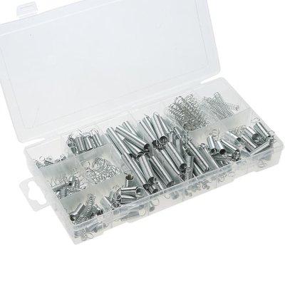 現貨~低價~200pcs 耐用彈簧套裝,帶透明PP塑膠盒包裝~JKL49099