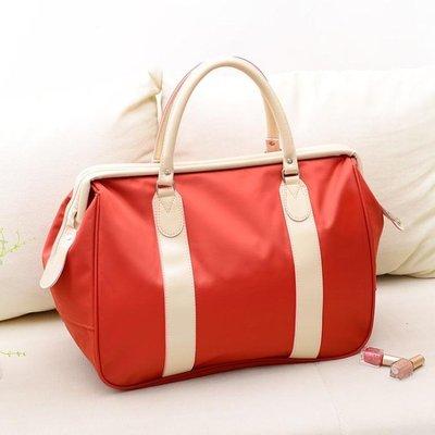 旅行包女手提包大容量行李包短途女旅游包出差登機包韓版潮旅行袋