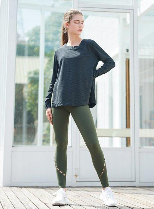 TuTu瑜珈精品╭☆MACACA【ANA355小山罩衫】瑜珈上衣/韻律上衣/健身