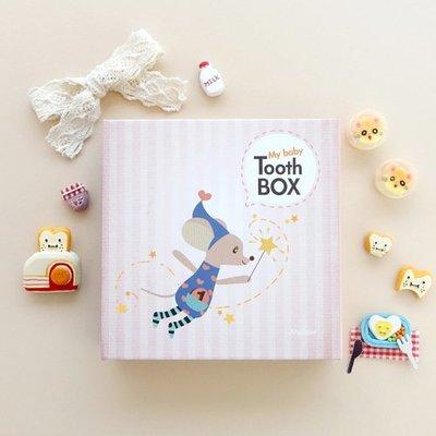 ❅PAVEE❅ 韓國Mellow~ My Baby Tooth Box v3 寶貝成長紀錄 乳牙保存盒/收集盒