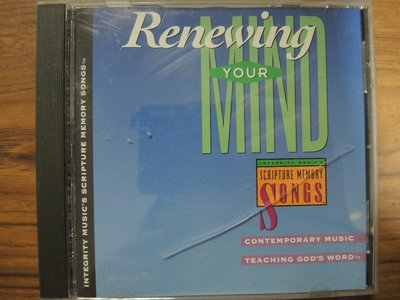 MWM◎【二手CD】Renewing Your Mind 美版,無ifpi,片況佳